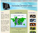 Pictocom Internationalホームページ画像